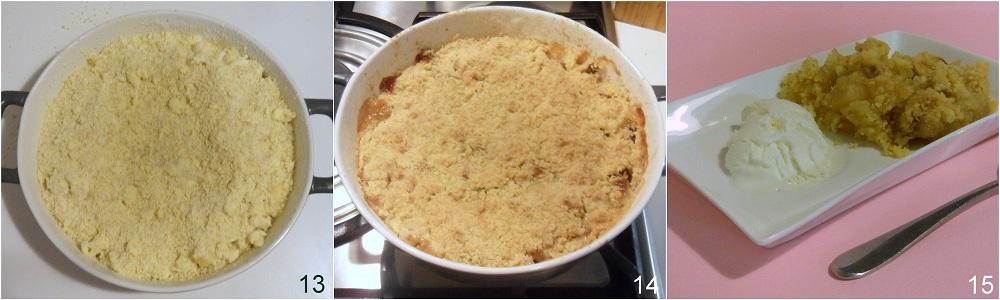Crumble di mele ricetta dolce inglese il chicco di mais 5