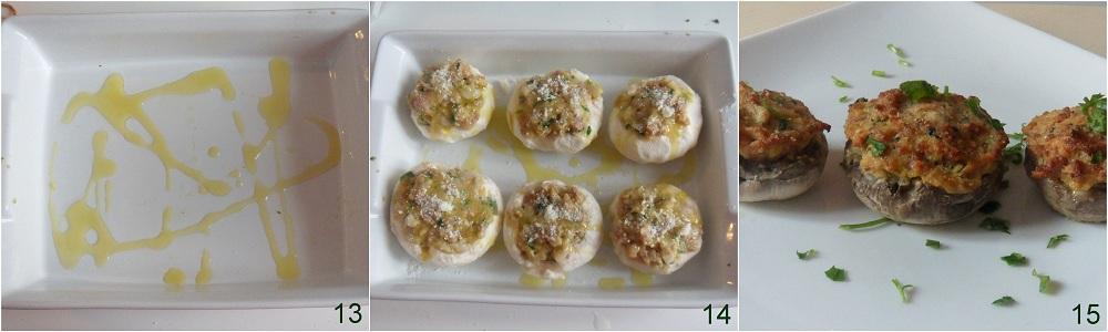 Funghi ripieni con salsiccia ricetta facile il chicco di mais 5