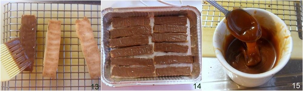 Simil twix fatto in casa ricetta snack il chicco di mais 5