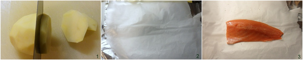 Trota salmonata al cartoccio ricetta veloce il chicco di mais 1