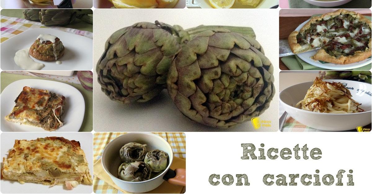 Ricette con carciofi facili e veloci e tutorial come for Ricette con carciofi