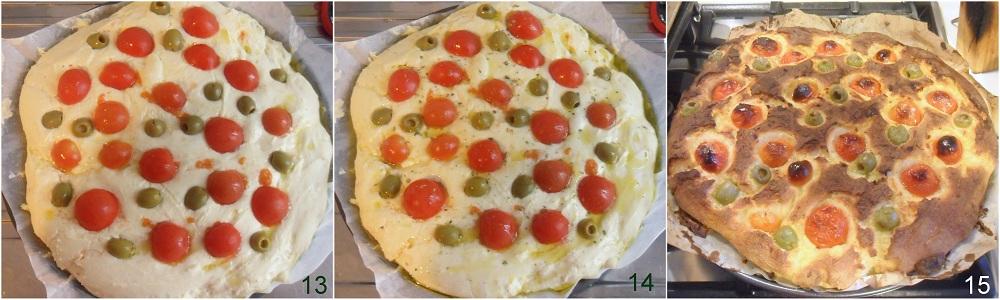 Focaccia senza glutine con olive e pomodorini ricetta pugliese il chicco di mais 5