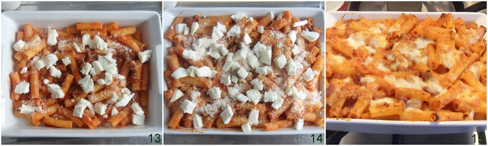 Pasta al forno con ragù di salsiccia ricetta primo il chicco di mais 5