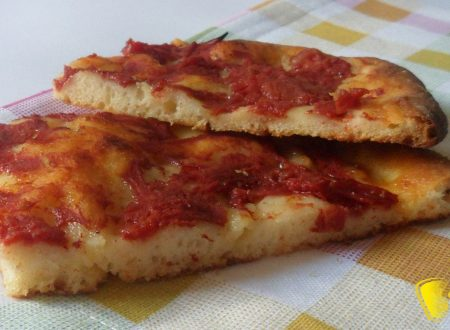 Pizza rossa romana (ricetta senza glutine)