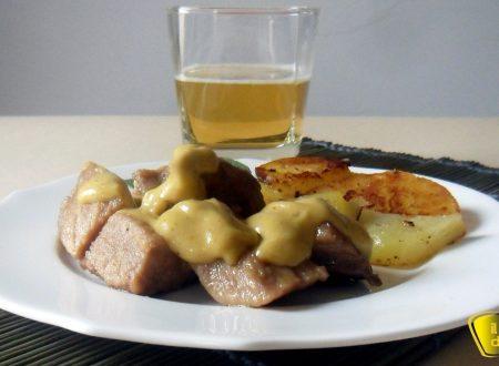 Spezzatino di maiale alla birra (ricetta economica)
