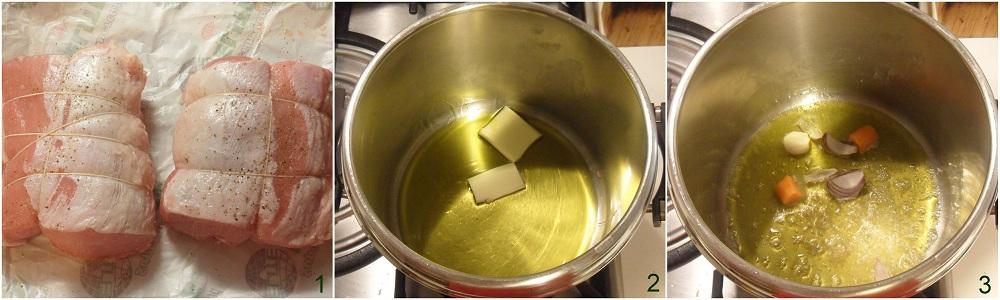 Arrosto di maiale al latte ricetta senza forno il chicco di mais 1