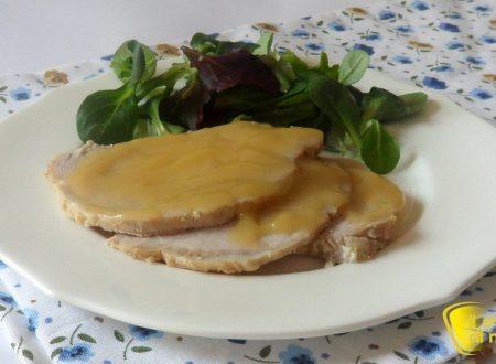 Arrosto di maiale al latte (ricetta senza forno)