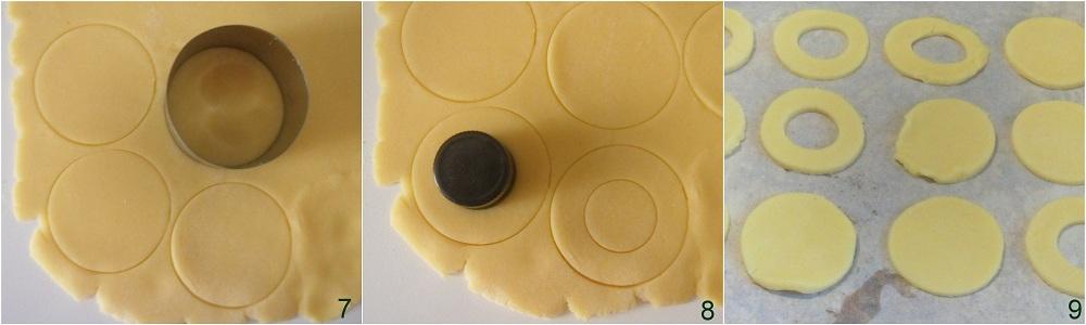 Biscotti occhio di bue ricetta facile il chicco di mais 3