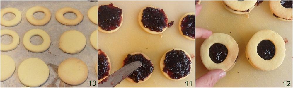 Biscotti occhio di bue ricetta facile il chicco di mais 4