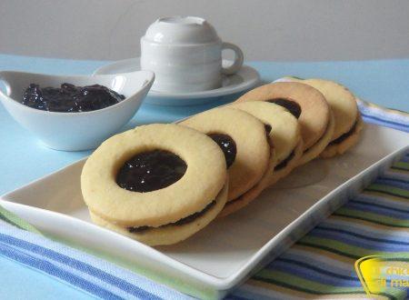 Biscotti occhio di bue (ricetta facile)
