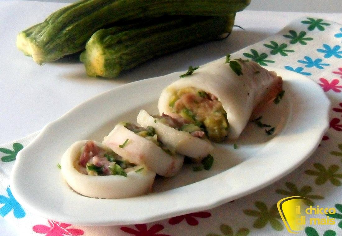 Calamari ripieni di verdure ric etta al forno for Ricette secondi