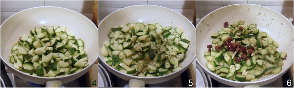 Caponata di zucchine ricetta contorno il chicco di mais 2