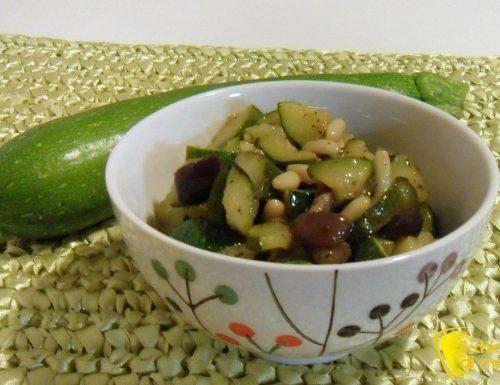 Caponata di zucchine (ricetta contorno)