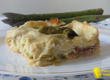 Lasagne con asparagi e speck (ricetta di primavera)