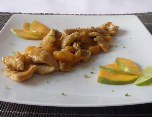 Pollo al mango e lime (ricetta esotica)