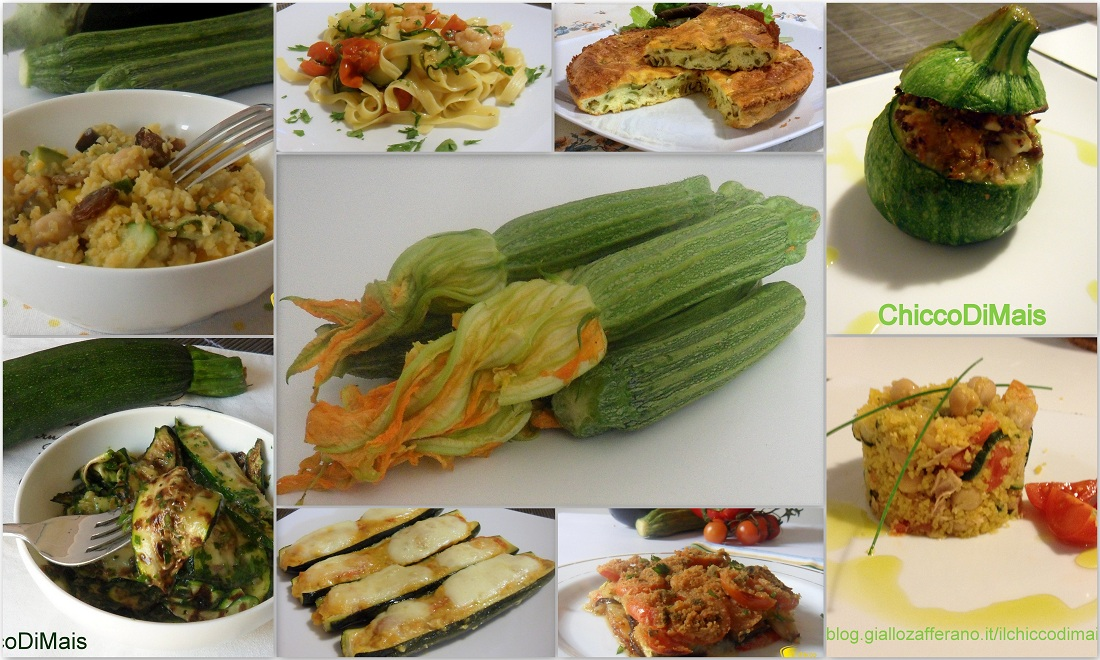 Ricette con zucchine facili e veloci il chicco di mais