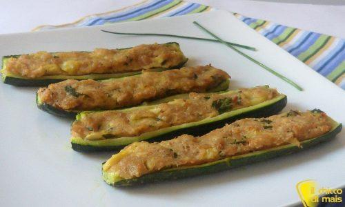 Zucchine ripiene di tonno (ricetta secondo)