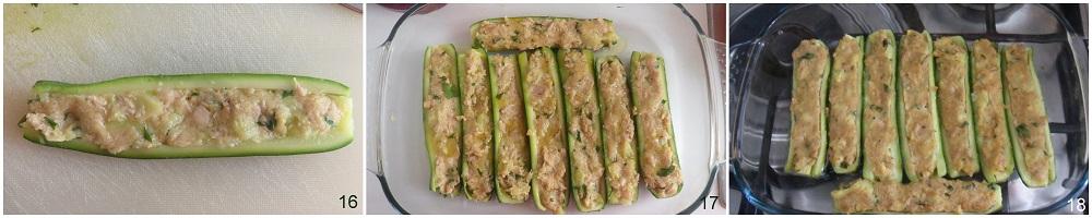 Zucchine ripiene di tonno ricetta secondo il chicco di mais 6
