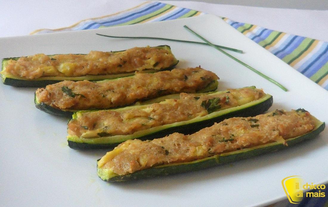 Ricette con zucchine facili e veloci il chicco di mais zucchine ripiene di tonno
