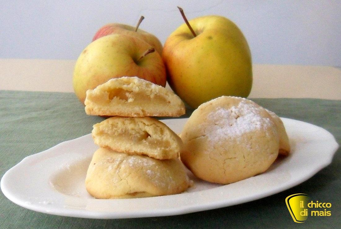 ricette per pasquetta Biscotti cuor di mela ricetta dolce il chicco di mais
