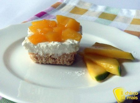 Cheesecake al mango (ricetta senza cottura)
