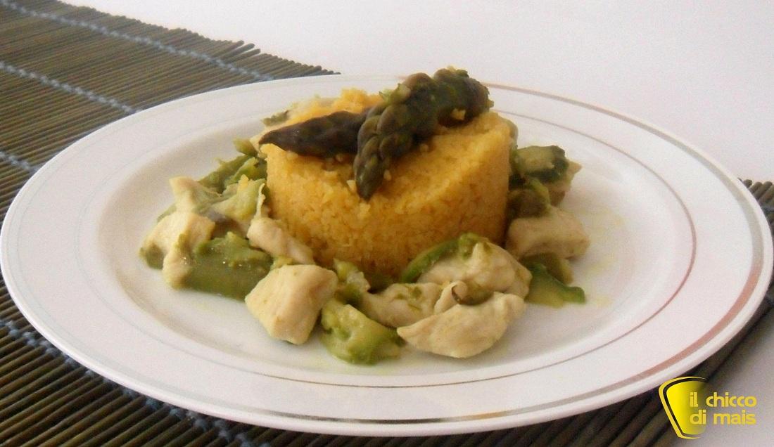 Ricette con zucchine facili e veloci il chicco di mais couscous con pollo asparagi e zucchine