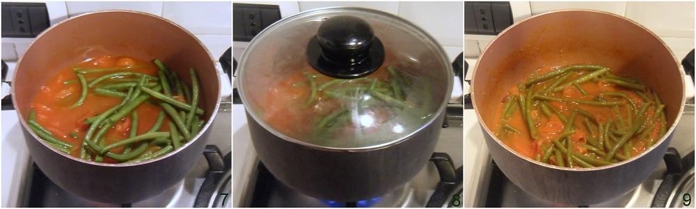 Fagiolini in umido con pomodoro ricetta contorno il chicco di mais 3