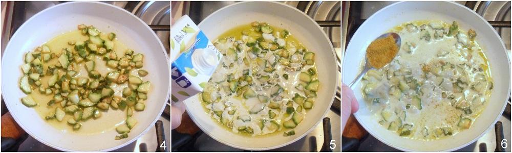 Pasta con curry e zucchine ricetta veloce il chicco di mais 2