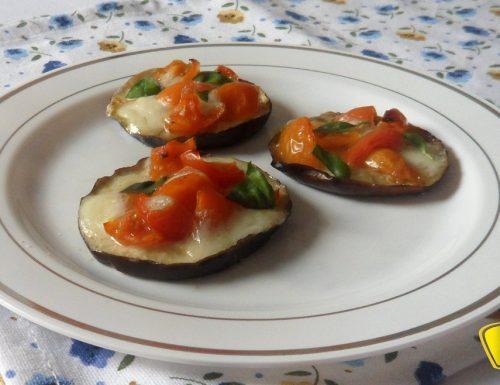 Pizzette di melanzane (ricetta al forno)