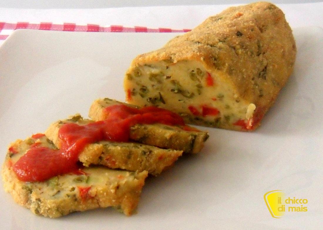 manu di natale vegetariano Polpettone di verdure ricetta vegetariana il chicco di mais