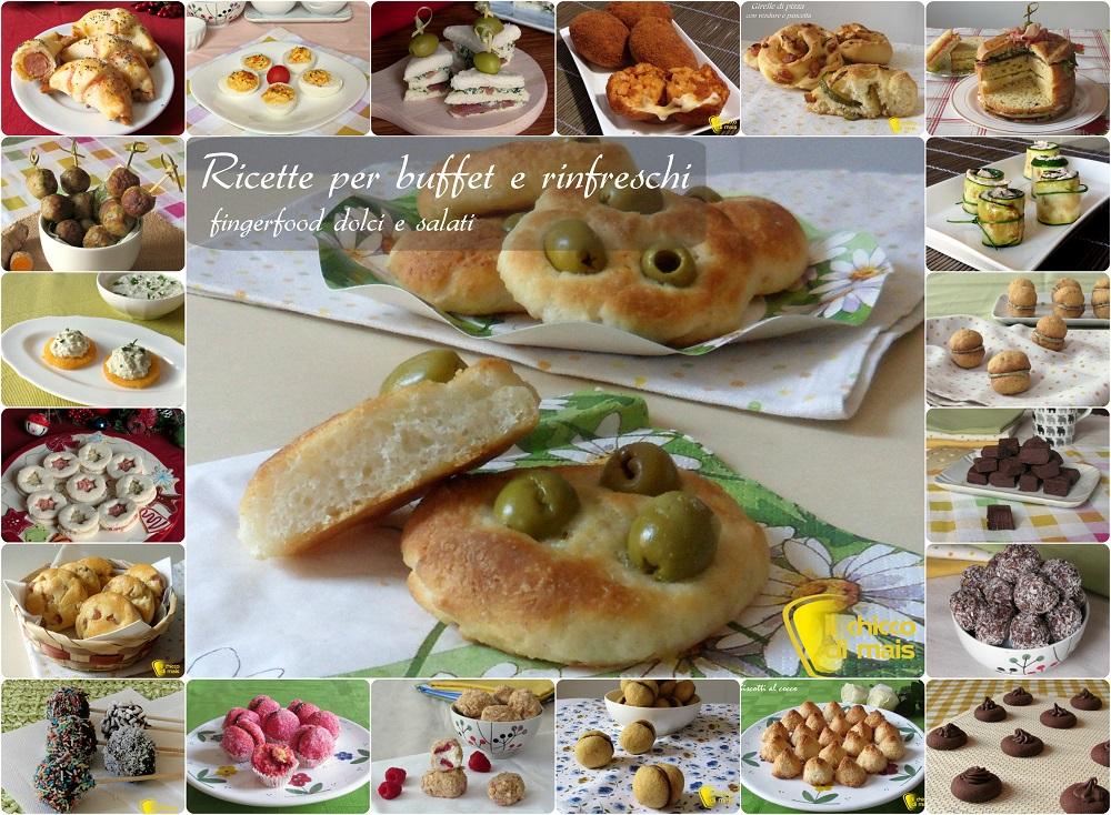 Preferenza Ricette per buffet e rinfreschi (finger food dolci e salati) QO36