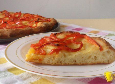 Focaccia ai peperoni (ricetta senza glutine)