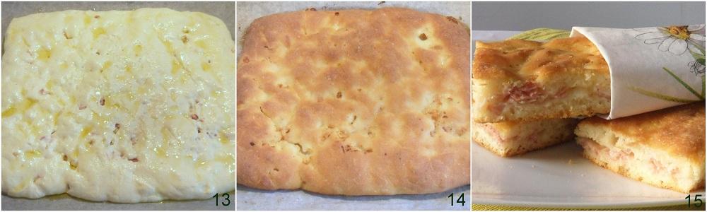 Focaccia ripiena di prosciutto e mozzarella ricetta senza glutine il chicco di mais 5