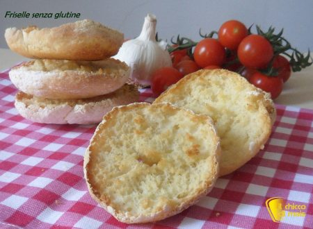 Friselle senza glutine (ricetta con LM)