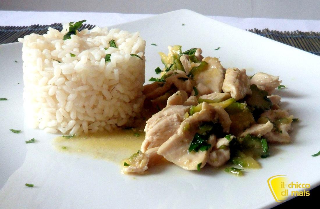 Pollo thai al latte di cocco ricetta etnica il chicco di mais