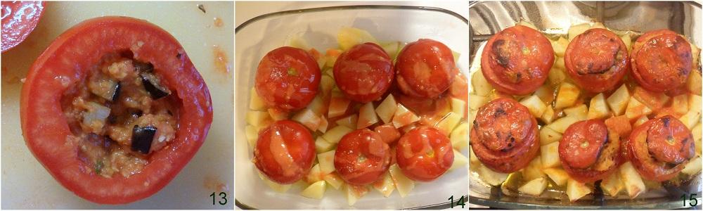 Pomodori ripieni di couscous ricetta piatto freddo il chicco di mais 5