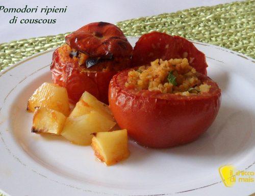 Pomodori ripieni di couscous (ricetta piatto freddo)