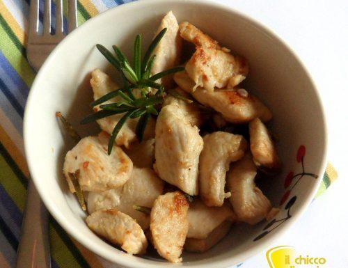 Spezzatino di pollo agli aromi (ricetta facile)