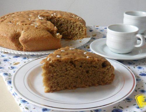 Torta al caffè soffice (ricetta colazione)