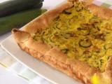 Torta salata con zucchine e zafferano ricetta facile il chicco di mais