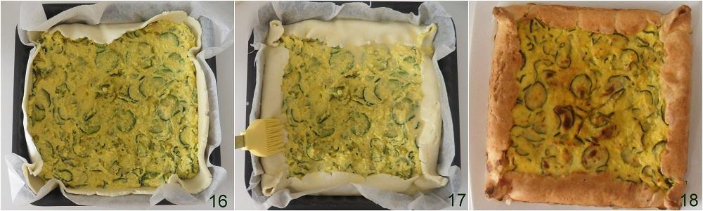 Torta salata con zucchine e zafferano ricetta facile il chicco di mais 6