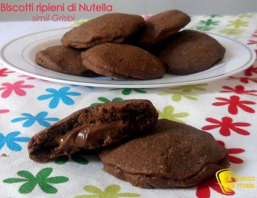 Biscotti ripieni di Nutella