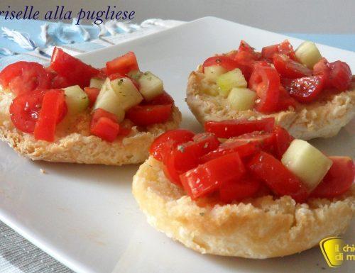 Friselle alla pugliese (ricetta piatto freddo)