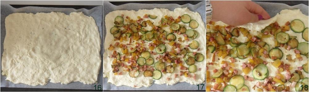 Girelle di pizza con verdure e pancetta ricetta senza glutine il chicco di mais 6