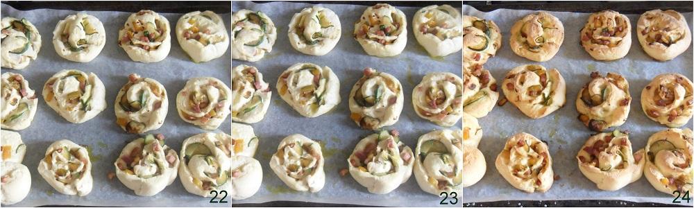 Girelle di pizza con verdure e pancetta ricetta senza glutine il chicco di mais 8