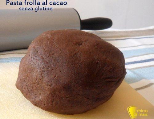 Pasta frolla al cacao senza glutine (ricetta base)