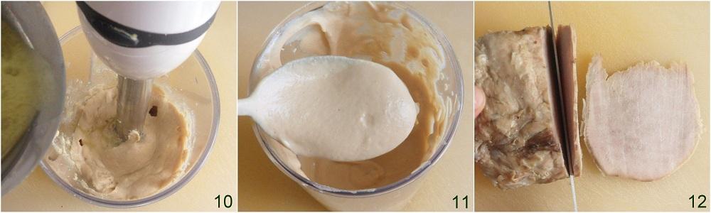 Tacchino, maiale o vitello tonnato ricetta piatto freddo il chicco di mais 4