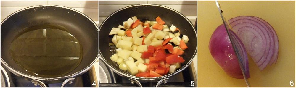 Contorno di verdure estive in padella ricetta vegan il chicco di mais 2