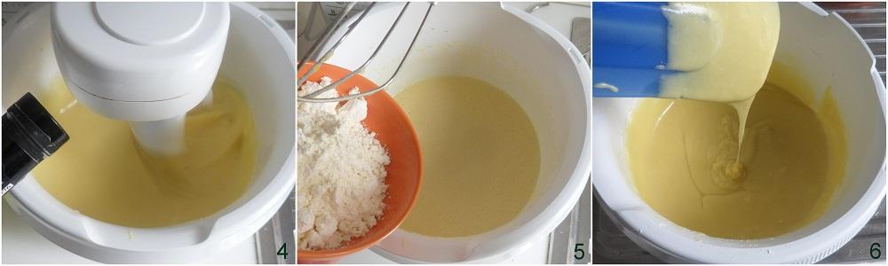 Crumb cake alle pesche e yogurt ricetta dolce il chicco di mais 2