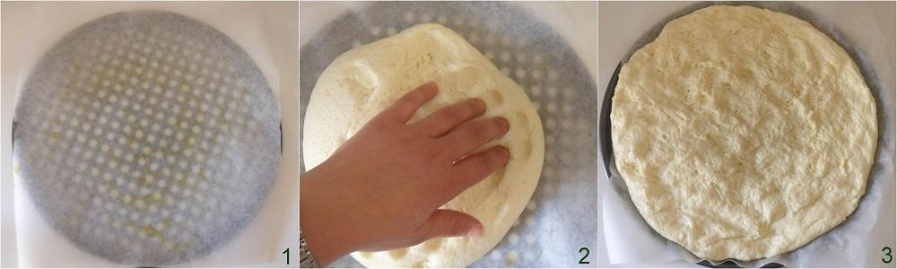 Focaccia con patate e pomodori ricetta senza glutine il chicco di mais 1